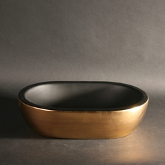 Midas Ceramic Satin Gold Black