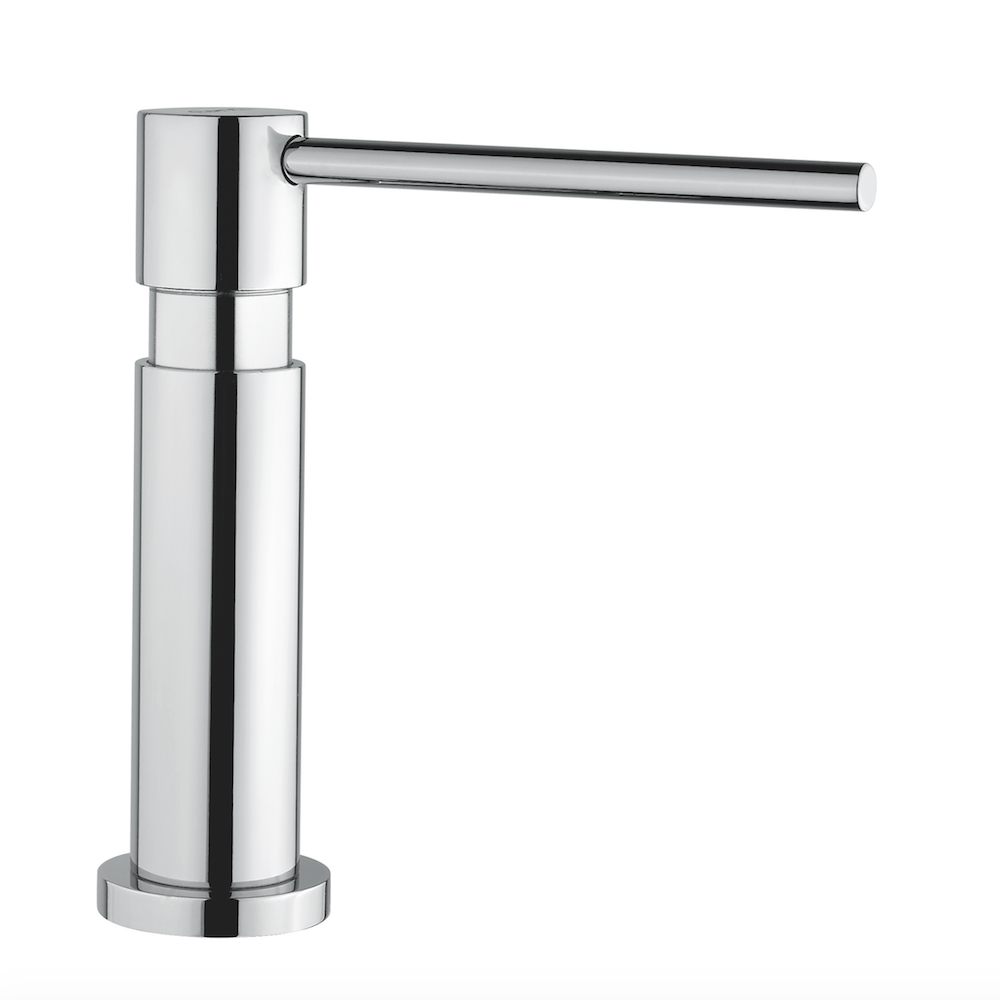 Modern Kitchen Soap Dispenser | Chrome Finish