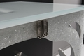 MURANO GLASS VANITY 47"