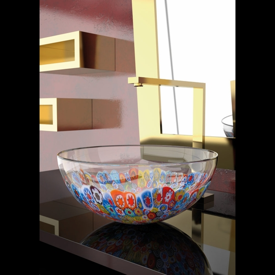 MURANO LAGUNA MURRINE (Glass Vessel Sink)