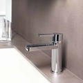 AQUA POLISHED CHROME LUXURY BATHROOM FAUCET