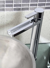 Trending Deckmount Waterfall Bathroom Faucet