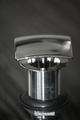 Square Fix Dome Vessel Sink Drain | Polished Chrome