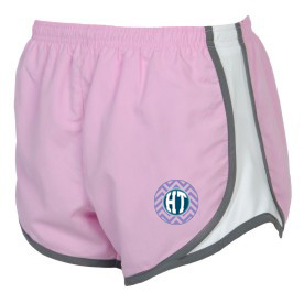 Holy Trinity Chevron Design Adult Shorts Pink