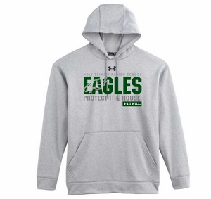 Holy Trinity Eagles Protect This House Adult UA Team Hoodie