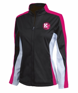 Holy Trinity Girls Jacket Pink/Black/White