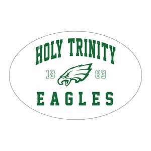 Holy Trinity Sticker - White