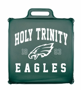 Holy Trinity Upper Arch Design Seat Cushion - Forest