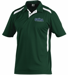 Saint Mary Coach's Polo Dark Green