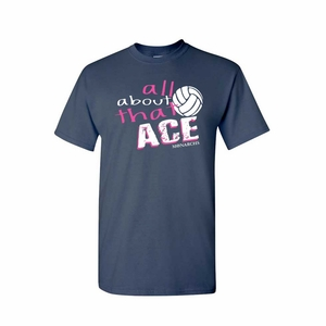 SMA All About That Ace Design Adult 100% cotton Tee