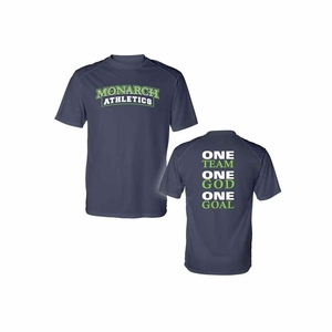 SMA Athletics One Team Youth Design Performance Tee Navy