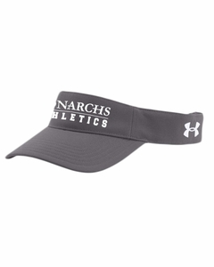 SMA Athletics UA Visor, Graphite
