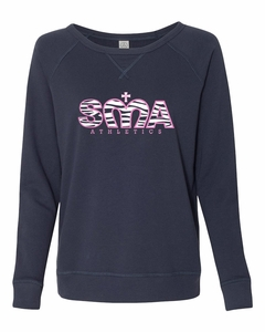 SMA Monarch Athletics Ladies' Pullover Sweatshirt, Navy