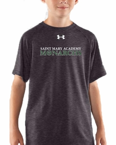 SMA Monarch Soccer UA Youth T-shirt, Carbon Heather