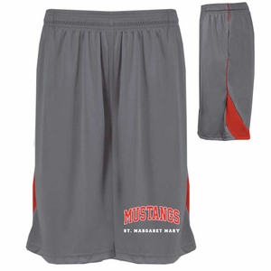 SMM Adult Pocketed Shorts Graphite/Red
