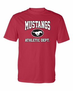 SMM Athletic Department Adult S/S Performance T-shirt, Red
