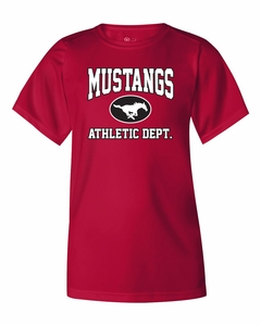 SMM Athletic Department Youth S/S Performance T-shirt, Red