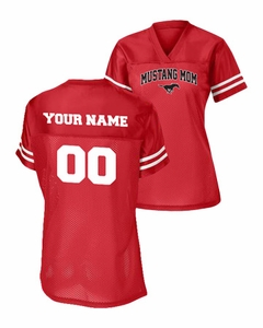 SMM Football Mom Replica Jersey, Red/White