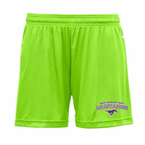 SMM Mustangs Ladies Performance Short, Lime