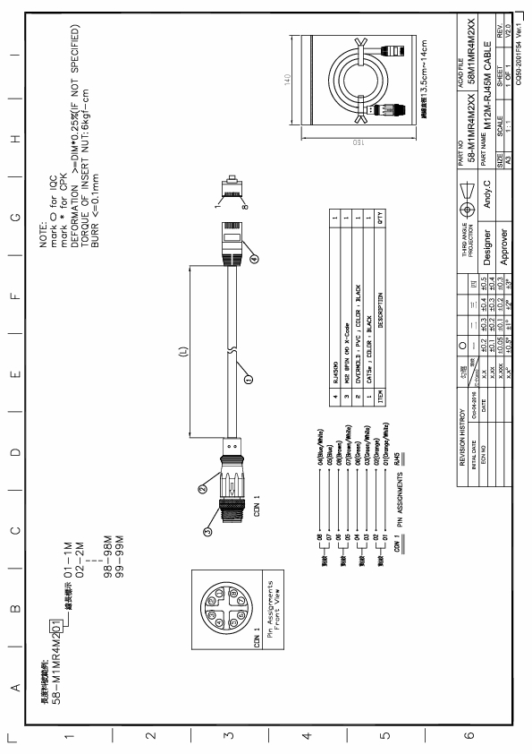 m12 to rj45 wiring diagram   26 wiring diagram images