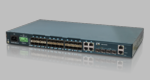 GSW-3424FM, 24x GbE, SFP + 4x GbE RJ45 + 4x 1G/10G, SFP+ L2+ Managed Fiber Switch