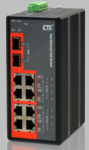 IFS-802GS-8PH, Unmanaged PoE Switch with 8 10/100Base-T + 2 Gigabit SFP Slots