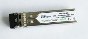 ISFP-SX-MM, Industrial Rugged SFP Module for 1.25G MM 850nm and 550M