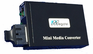 MC-1000-SC20, Mini-size Gigabit Ethernet Converter for 20Km