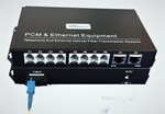 MC-FXO-8 and MC-FXS-8, 8 Channel POTS Phone Lines over Fiber Converter