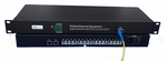 MC-FXO-16 and MC-FXS-16, 16 Channel POTS Over Fiber Converter