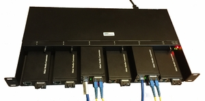 MC-Mini-AD, 12-Slot Rack Mount Ethernet Concentrator