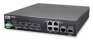 MSW-404, Carrier grade Ethernet Switch (NID) with 4 SFP + 4 GE ports