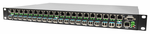 PHB-200M-AD, 20-Port 100/1000M RJ45 to 20-Port SFP Slots Concentrator
