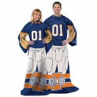 Illinois Uniform Comfy Throw by Northwest Company