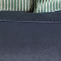 Niche by Eastern Accents Heston Strauss Denim Hand-Tacked Daybed Comforter