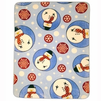 Shavel Hi Pile Oversize Luxury Throw - Snowman