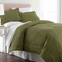 Shavel Micro Flannel® Comforter with Shams in Olive
