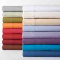 Shavel Micro Flannel® Solid Color King Sheet Set
