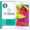 [3-Pack] IQ Shield� Tempered Glass �  iPhone 8  Plus Glass Screen Protector