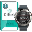 [3-Pack] IQ Shield� Tempered Glass � Garmin Fenix 5 Glass Screen Protector