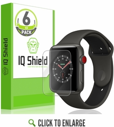 Apple Watch LiQuid Shield Screen Protector (42mm)(Apple Watch Nike+, Series 3/2/1 Compatible)(6-Pack)