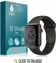 size 40 7dc7d e0c3a Apple Watch Matte Screen Protector (42mm)(Apple Watch Nike+, Series 3/2/1  Compatible)(6-Pack)