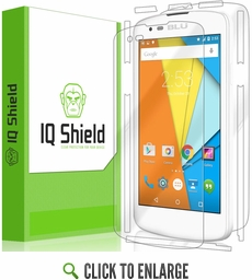 BLU Studio X Mini 4G LTE LiQuid Shield Full Body Skin Protector
