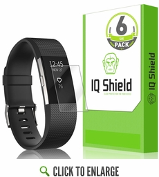Fitbit Charge 2 LiQuid Shield Screen Protector (6-Pack)