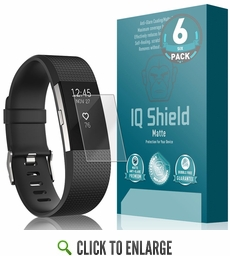 Fitbit Charge 2 Matte Screen Protector (6-Pack)