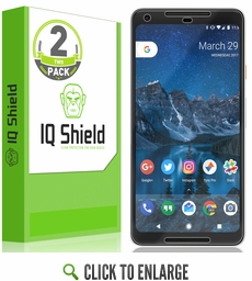 Google Pixel 2 XL LiQuid Shield Screen Protector (Max Coverage)[2-Pack]