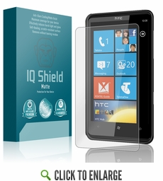 HTC HD7S  Matte Anti-Glare Screen Protector