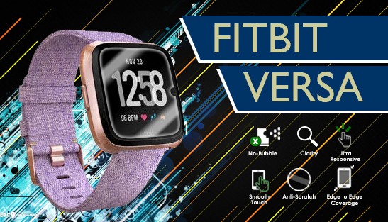 Fitbit Versa Screen Protectors