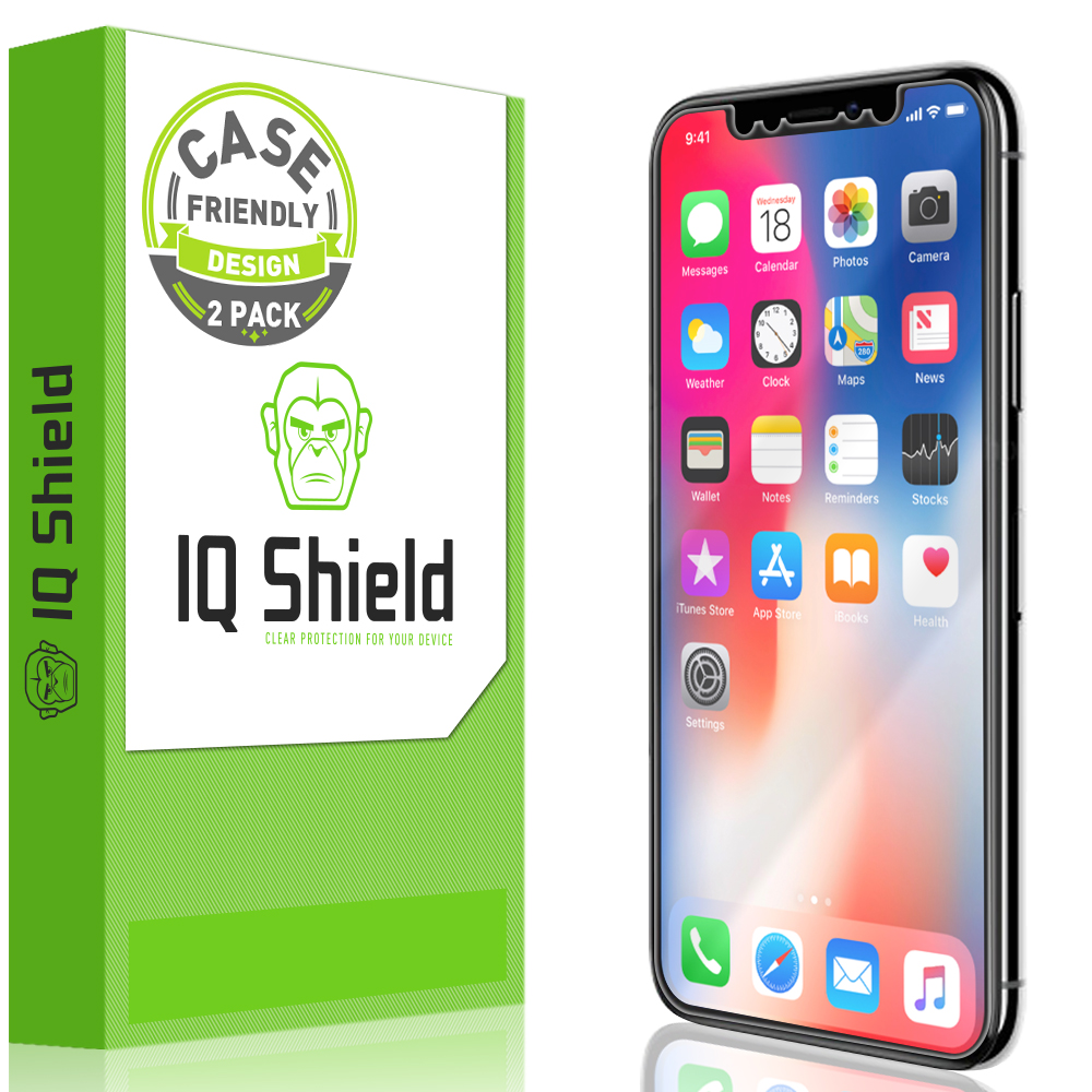 100% authentic 9c036 ef62f iPhone X LiQuid Shield Screen Protector (Case Friendly)[2-Pack]