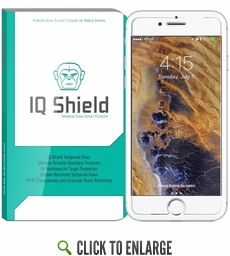 IQ Shield® Tempered Glass – Apple iPhone 7 Glass Screen Protector